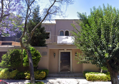 House in Lomas of Chapultepec 849m2